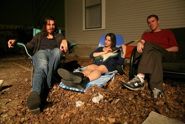 HUGE ANIMALS! :  Power trio Megafauna, playing Jan. 9 at Last Stage West, sounds like P.J. Harvey meets Pavement in Radiohead's basement to smoke a bowl with Led Zeppelin. - PHOTO COURTESY OF MEGAFAUNA