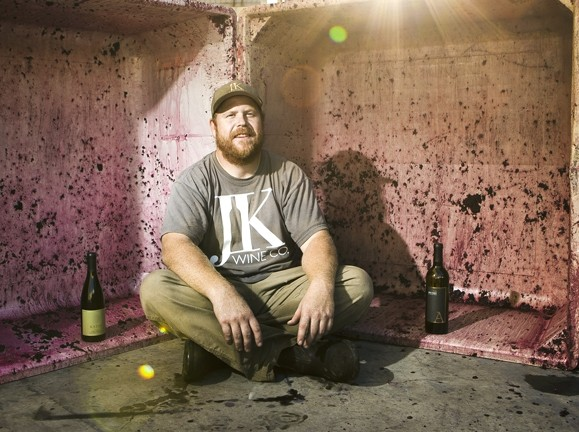 JUST CALL HIM JK :  Justin Kahler's first name might not be unique, but his approach to winemaking is. - PHOTO BY STEVE E. MILLER