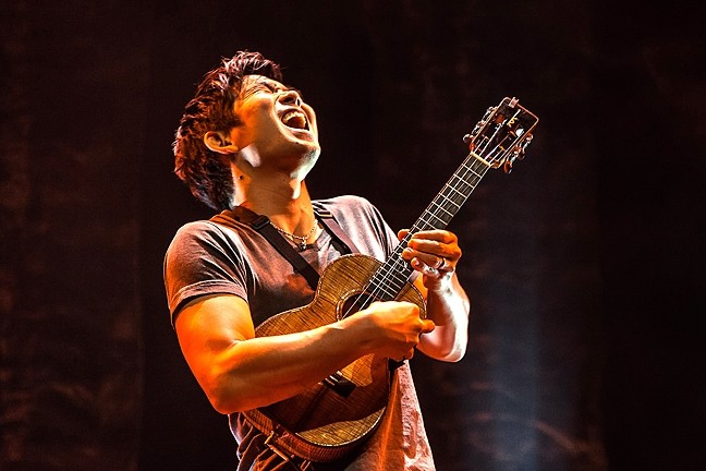 FOUR-STRING WONDER :  Ukulele master Jake Shimabukuro plays the SLOPAC on Aug. 15. - PHOTO COURTESY OF JAKE SHIMABUKURO