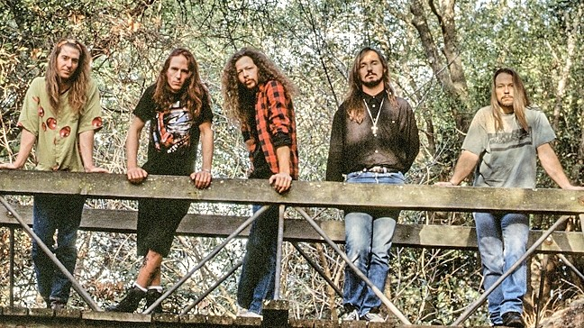 THRASHERS!:  Long defunct thrash-metal act Intrinsic recently released 'Nails,' a shelved album recorded 25 years ago. - PHOTO COURTESY OF INTRINSIC