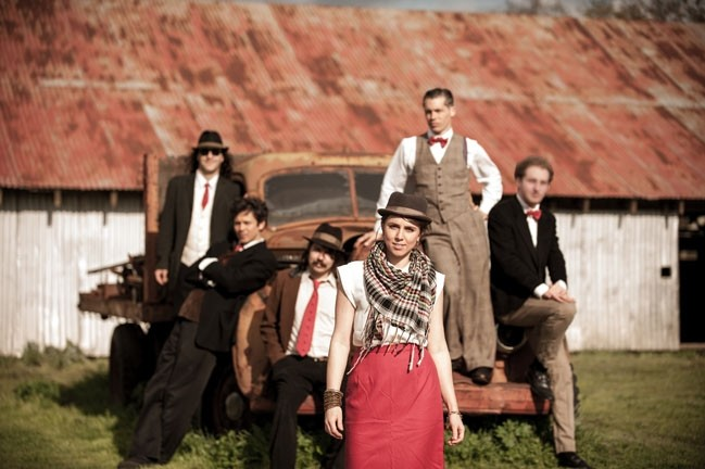 "1940S' CALLING :  Good Medicine Presents hosts Royal Jelly Jive on May 14 at SLO Brew. Expect ""Gypsy rock and soul jive."" - PHOTO COURTESY OF ROYAL JELLY JIVE"