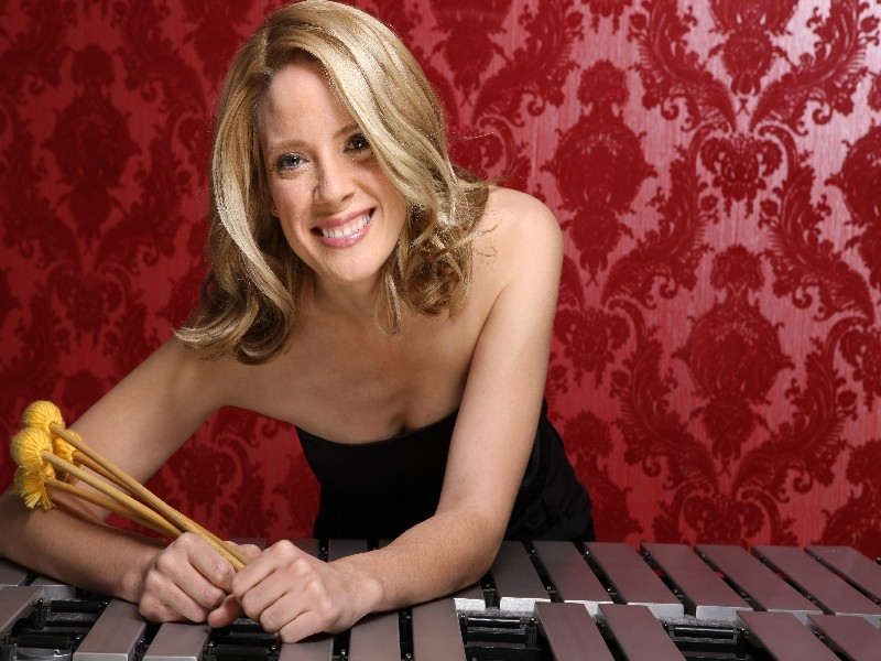 "MALLET MAVEN :  On Oct. 23, the Famous Jazz Artist Series at the Hamlet hosts fast rising female jazz vibraphonist Laura ""Lolly"" Allen. - PHOTO COURTESY OF LAURA ALLEN"