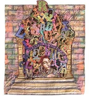 TOWER OF BABEL :  By Joan Lintault - IMAGE COURTESY OF JOAN LINTAULT
