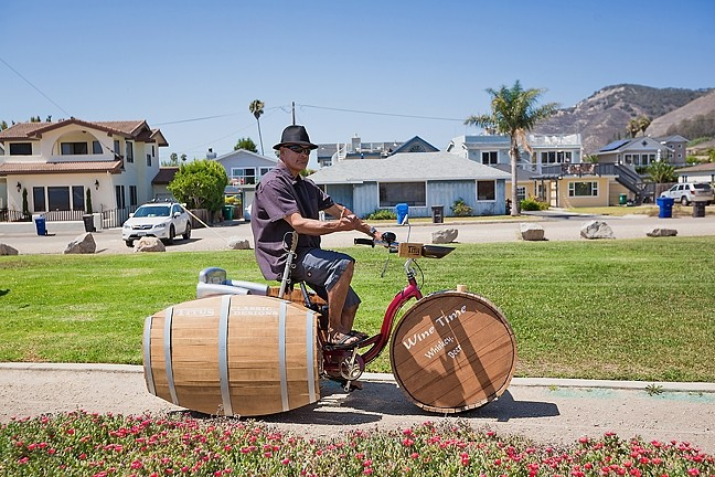 TOTAL TRIKE TAKEOVER :  Titus Olivas of Arroyo Grande builds custom bikes you have to see to believe. - PHOTO BY KAORI FUNAHASHI