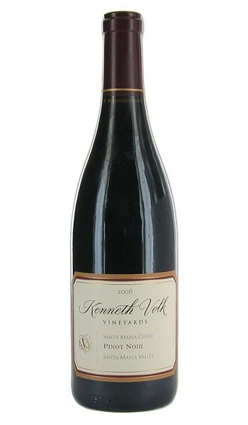 KENNETH VOLK VINEYARDS 2011 PINOT NOIR SANTA MARIA CUVÉE: