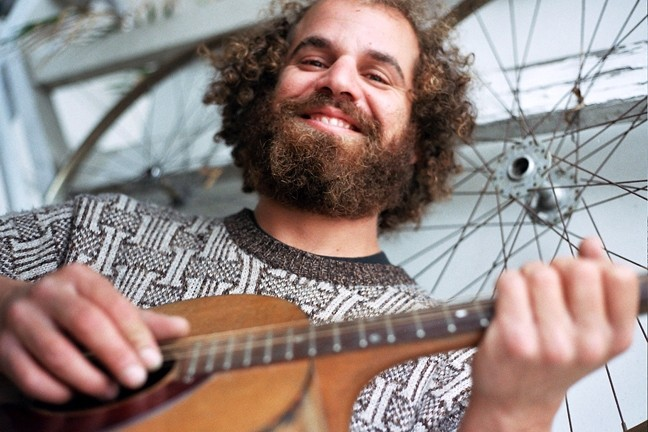GO FISH :  On March 17, The Porch hosts JimBo Trout, leader of the high energy, good-time San Francisco band JimBo Trout and the Fishpeople. - PHOTO COURTESY OFJIMBO TROUT