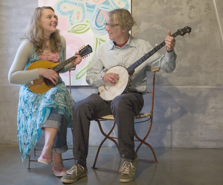 GOOD HILL COUNTRY FOLK :  Hear the original Appalachian folk music of Jeni and Billy on May 4 at the Red Barn. - PHOTO COURTESY OFJENI AND BILLY