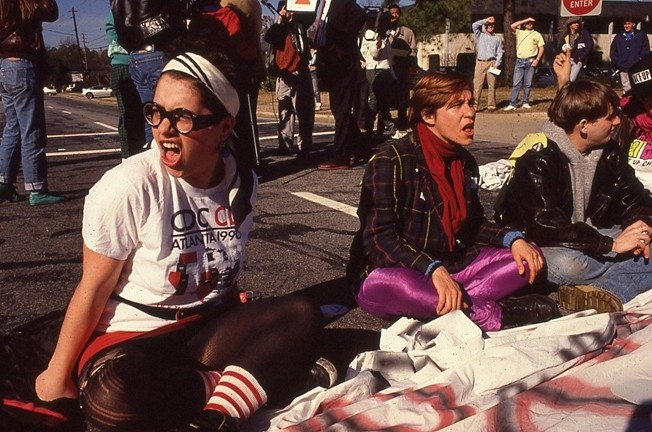 HOW TO SURVIVE A PLAGUE :  David France's Oscar-nominated documentary takes a look at the work of Act Up and TAG, two activist groups fighting to find a cure for HIV/AIDS in the 1980s and 1990s. - PHOTO COURTESY OF IFC FILMS