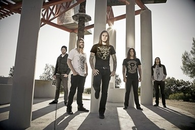 METALLIC JESUS :  Christian-tinged metal act As I Lay Dying returns to SLO Brew on March 16. - PHOTO COURTESY OF AS I LAY DYING