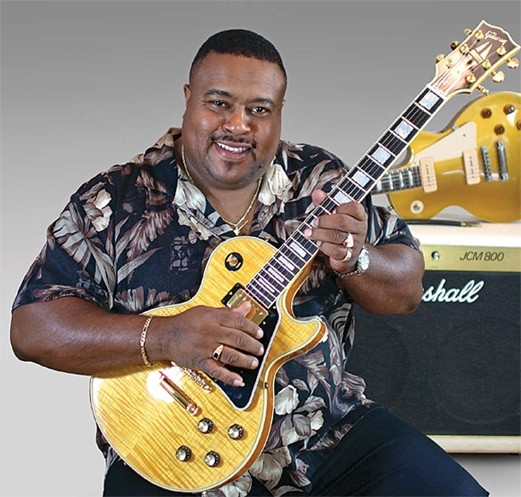 TRADITIONAL BUT MODERN :  Award-winning blues guitarist and singer Larry McCray brings his band to the SLO Vets Hall for a SLO Blues Society dance concert on Saturday, Sept. 20. - PHOTO COURTESY OF LARRY MCCRAY