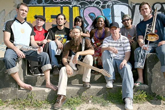 FEELIN' IRIE :  Rootsy reggae act Groundation returns to Downtown Brew on Nov. 15. - PHOTO COURTESY OF GROUNDATION