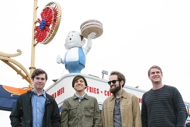 LET IT BLEED :  Florida-based alt-rockers Surfer Blood play Jan. 9 at the Cayucos Vets Hall. - PHOTO COURTESY OF SURFER BLOOD