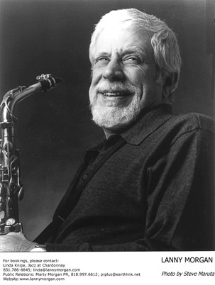 LEGEND :  Alto sax icon Lanny Morgan returns to the Hamlet for the next Famous Jazz Artist Series concert on Oct. 24. - PHOTO COURTESY OF LANNY MORGAN