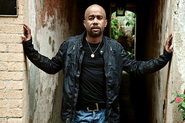 TRUE BELIEVER:  Former Hootie & the Blowfish front man Darius Rucker has been enjoying a second career as a country star, and plays Aug. 15 at Vina Robles Amphitheater. - PHOTO COURTESY OF DARIUS RUCKER