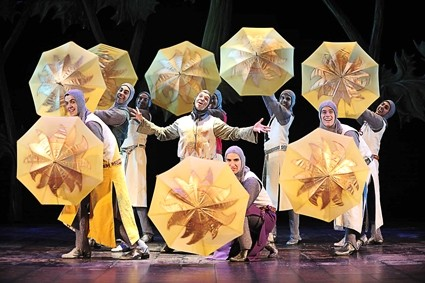 GO AND BOIL YOUR BOTTOMS! :  The musical Spamalot, based on the film Monty Python and the Holy Grail, plays at the PAC on Feb. 28. - PHOTO COURTESY OF CAL POLY ARTS