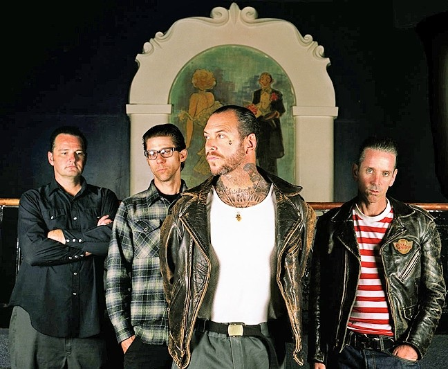 O.C.O.P.:  Orange County original punks, Social Distortion, will perform their iconic self-titled third album in its entirety on Sept. 11 at Vina Robles Amphitheatre. - PHOTO COURTESY OF SOCIAL DISTORTION