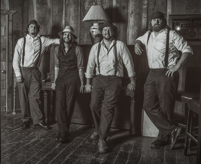 OLD SOULS:  Moonshiner Collective will deliver and evening mesmerizing folk rock songs on Jan. 10 at SLO Brew. - PHOTO COURTESY OF MOONSHINER COLLECTIVE