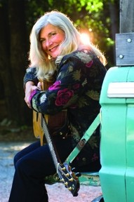 CHANTEUSE :  The amazing Sherry Austin leads her band through its paces on April 10 at the SLO Botanical Gardens. - PHOTO COURTESY OF SHERRY AUSTIN