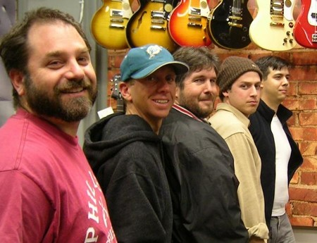 ALMOST DEAD :  Grateful Dead tribute act Doughs Knees plays two shows this week: Oct. 24 at Monteleone's Rock, and Oct.25 at Sweet Springs Saloon. - PHOTO COURTESY OF DOUGHS KNEES