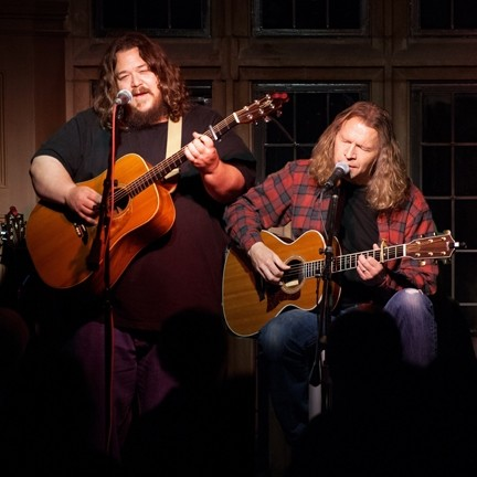 DYNAMIC DUO :  Música Del Río House Concerts plays host to Berkley Hart in Atascadero on May 10. - PHOTO COURTESY OF BERKLEY HART