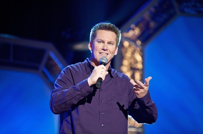 SEEK OUT THE BUTTERFLIES! :  Comic Brian Regan's observational humor has won him fans from all walks of life. - PHOTO BY BRIAN FREEDMAN