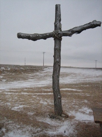 CROSS TO BEAR :  HopeDance Bob Banner has been showing Jesus Camp around the Central Coast throughout December. Local turnout, he said, has been good. of all time in the Untied States. - PHOTO COURTESY OF MOVIEWEB.COM
