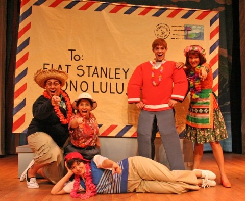 A GREAT WAY TO TRAVEL :  The Flat Stanley books will come to life Jan. 29 at Cohan Center when The Musical Adventures of Flat Stanley brings to life the travels of the young boy who awakens to find himself slide-under-a-door flat, stuffs himself in an envelope, and mails himself around the world. Great stuff for pre-K through 5-plus-year olds! - PHOTO COURTESY OF CAL POLY ARTS