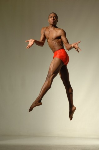 DOWN TO EARTH? :  Ephraim Sykes has been dancing with Ailey II for nearly two years. - PHOTO COURTESY OF EDUARDO PATINO