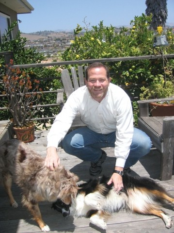 CONSIDERING CANDIDACY :  Grover Beach resident Adam Hill is not happy with the way county growth is sprawling into the countryside, and he blames a three-vote majority on the County Board of Supervisors. - PHOTO BY KATHY JOHNSTON