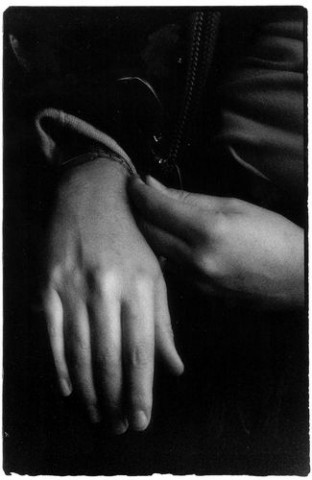 """HANDS AT REST� FIRST PLACE OPEN BW: - MARCY A. ISRAEL"