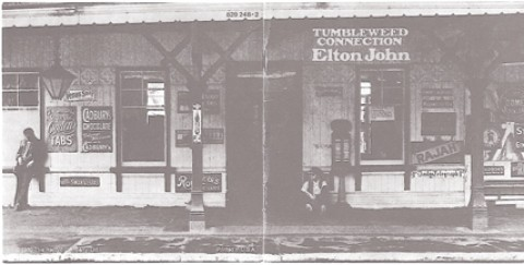 HISTORY MAKERS :  Bernie Taupin and Elton John created the album Tumbleweed Connection. - IMAGE COURTESY OF CHRIS KAHN
