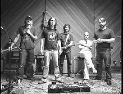 HOON'S SHOES :  Former SLO local Travis Warren (second from left) is Blind Melon's new frontman, playing May 8 at Downtown Brew. - PHOTO COURTESY OF BLIND MELON