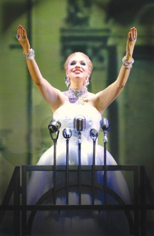 POLITICS AS USUAL :  Evita Peron was the George Bush of Argentina. Watch her rise and fall when Evita, the musical, comes to the SLO PAC on Nov. 23. - PHOTO COURTESY OF CAL POLY ARTS