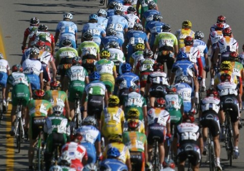 RACE FOR THE TOUR :  While the Chamber of Commerce sings praises for the success of this year's Tour of California, some local merchants say the race did their businesses more harm than good. - PHOTO BY CHRISTOPHER GARDNER