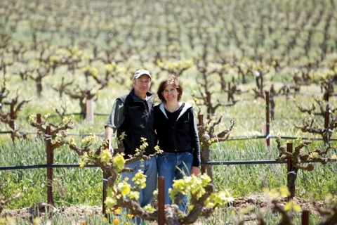 DAM IT :  Niels and Bimmer Udsen are the owners and operators who founded Castoro Cellars in 1983. - PHOTO BY JESSE ACOSTA