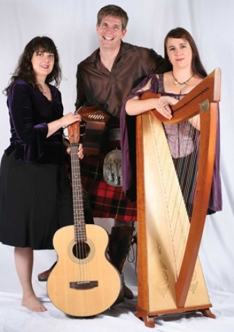 IRISH WISH :  Celtic trio The Muses will deliver an evening of music to blow your kilt up, on Nov. 24 at Green Acres Lavender Farm. - PHOTO COURTESY OF THE MUSES