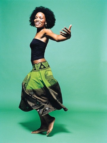 WEST AFRICAN CHANTEUSE :  International singing star Lura plays Cal Poly's Spanos Theatre on April 17 - PHOTO COURTESY OF LURA