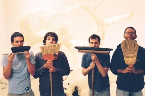 BROOM-STACHE! :  Santa Cruz's Man/Miracle brings its indie rock sounds to the SLO Art Center on Jan. 28 for a three-band show. - PHOTO COURTESY OF MAN//MIRACLE