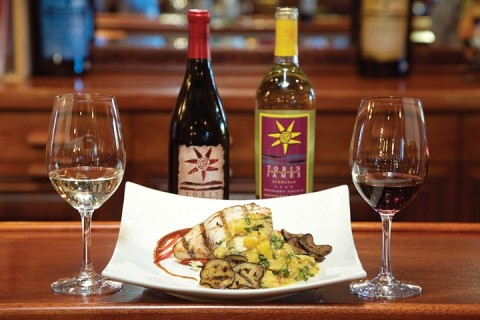 TOGETHER AT LAST :  Well-paired food and wine make for unforgettable meals. - PHOTO BY JESSE ACOSTA
