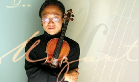 ROCKSTAR VIOLINIST:  Scott Yoo rocks the house from New York to Hong Kong, and this month he'll delight the Central Coast with his virtuoso musicianship in the 35th Annual Mozart Festival. - CHRISTOPHER GARDNER