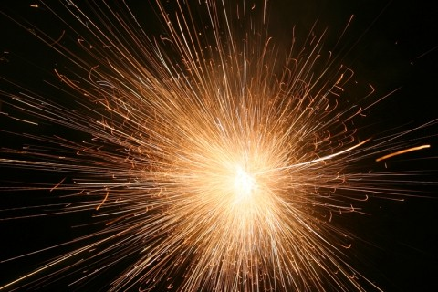 FIRE IN THE SKY :  Legal fireworks are typically few and far between throughout most of San Luis Obispo County. - FILE PHOTO