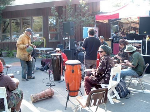 IS THERE A HIPPIE IN THE HOUSE? :  Hipster and trippers unite this weekend at the 16th Annual Big Sur Jade Festival, featuring three days of free live music Oct. 5 through 7, including a morning drum circle every day. - PHOTO COURTESY OF THE BIG SUR JADE FESTIVAL