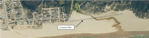 BRIDGING THE CREEK :  A recent report on alternative access routes for the Oceano Dunes State Vehicular Recreation Area looks at and rejects the idea of a movable bridge over Arroyo Grande Creek. - IMAGE COURTESY OF CONDOR ENVIRONMENTAL PLANNING SERVICES, INC.