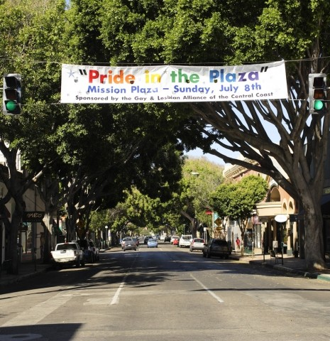 RAINBOW OVERHEAD :  Pride brings a variety of events to San Luis Obispo, ranging from music to seminars to kids' activities.