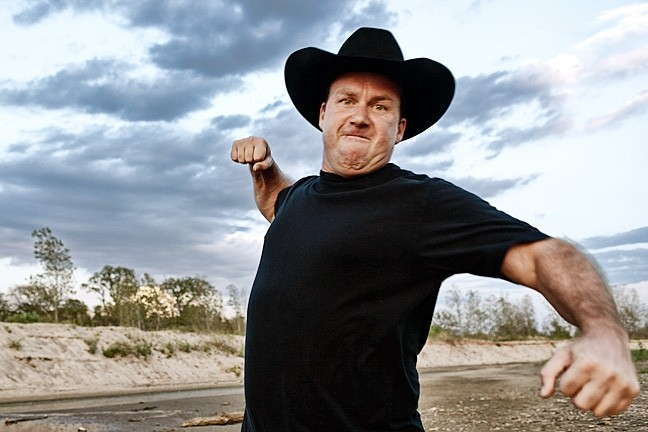 TRUTH PUNCH:  Comic and country singer Rodney Carrington presents his Here Comes the Truth tour at the Madonna Inn Expo Center on July 8. - PHOTO COURTESY OF RODNEY CARRINGTON