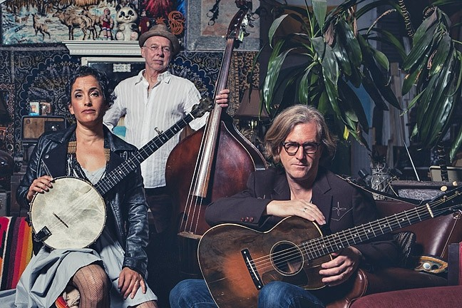 STRINGS AND THINGS:  The Evie Laden Band brings their soulful American songs to the Red Barn on June 11. - PHOTO BY GUDMUNDOR VIGFUSSON