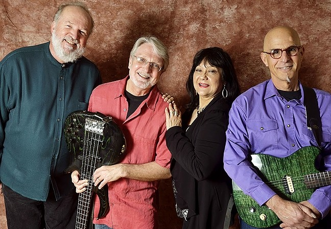 R&B DIVA:  The Irene Cathaway Rhythm and Blues Band brings their danceable sounds to D'Anbino's on July 2. - PHOTO COURTESY OF THE IRENE CATHAWAY RHYTHM AND BLUES BAND