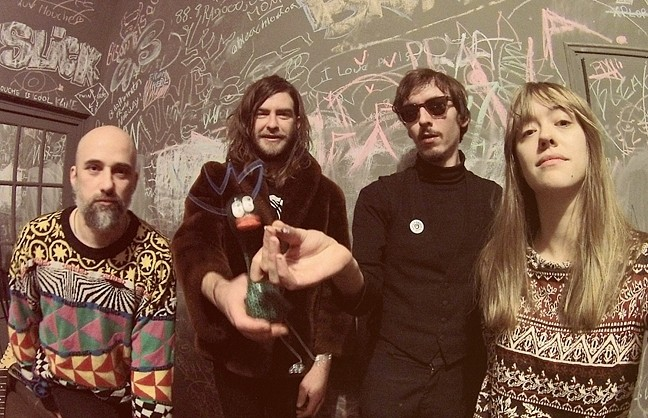 KRAUTROCK:  German garage/psych/pop act The Roaring 420s headline a four-band show at Sweet Springs Saloon on Feb. 12. - PHOTO COURTESY OF THE ROARING 420S