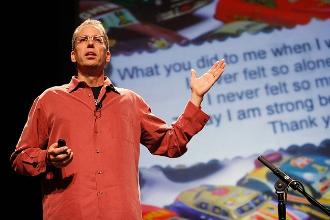 THE SECRET KEEPER:  Author Frank Warren has been the recipient of more than a million secrets since he started the PostSecret project in 2004. - PHOTO COURTESY OF CAL POLY ARTS