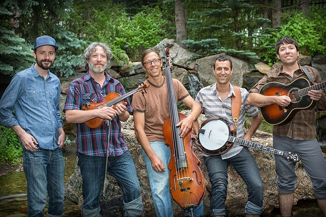 BLUEGRASS AT THE BEACH:  Folk and bluegrass masters Hot Buttered Rum play a free, ocean side concert at The Cliffs on May 30, for Memorial Day. - PHOTO COURTESY OF HOT BUTTERED RUM